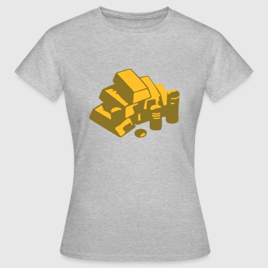 Gold, Or, richesse - T-shirt Femme