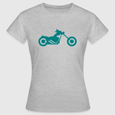 tourism motorcycle 5869 - Women's T-Shirt