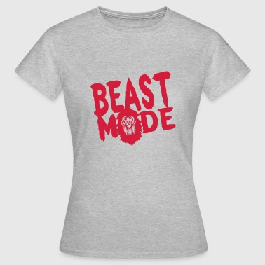 beast mode citation lion rugissant - T-shirt Femme