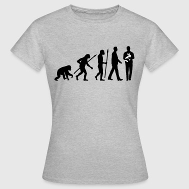 evolution_of_man_kaninchenzuechter02_2c - Frauen T-Shirt