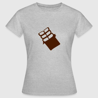 tableta de chocolate 704 - Camiseta mujer
