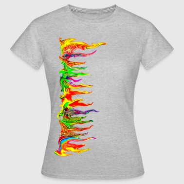 Color your life! colour, music, holi festival, goa - T-shirt Femme