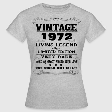 VINTAGE 1972-LIVING LEGEND - Women's T-Shirt