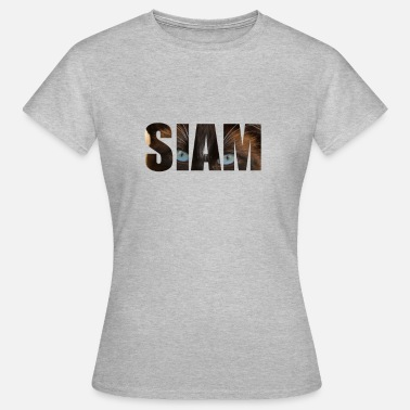 Chat siamois chat siamois - T-shirt Femme