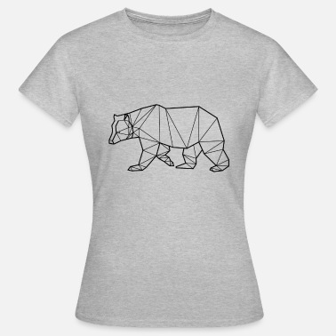 Grizzly Black Bear - Animal Prism - Women's T-Shirt