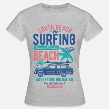 South Beach South Beach - Frauen T-Shirt