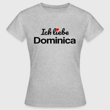 Dominica - Frauen T-Shirt