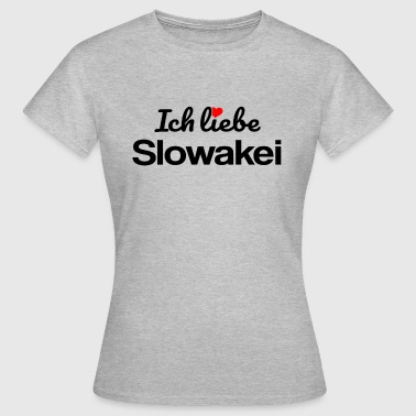 Slowakei - Frauen T-Shirt