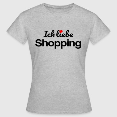 Shopping - Frauen T-Shirt
