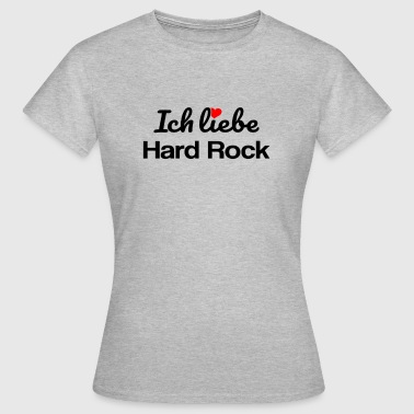 Hard Rock - Frauen T-Shirt