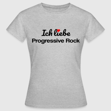 Progressive Rock - Frauen T-Shirt