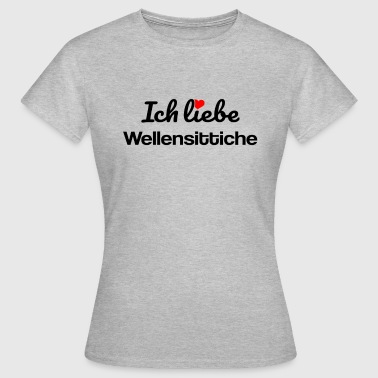 Wellensittiche - Frauen T-Shirt