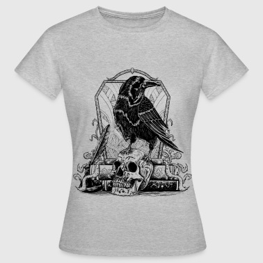 Raven B&W - Women's T-Shirt