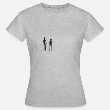 Emblems Him and her - Women's T-Shirt