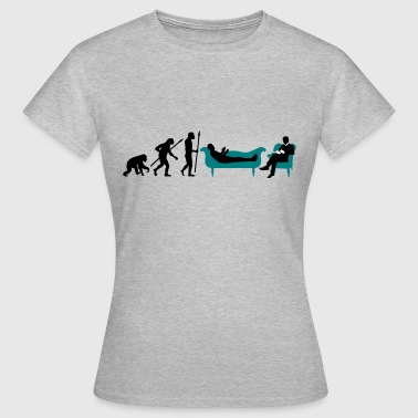 Sigmund Freud evolution_therapeut_psychologe_11_2016_b - Frauen T-Shirt