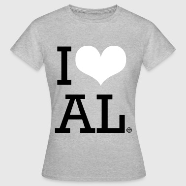 I LOVE AL - Women's T-Shirt