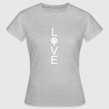 Bicycle love - Women's T-Shirt