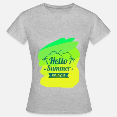 Shart Hello Summer - Women's T-Shirt
