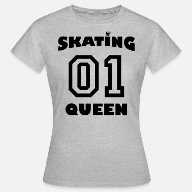 Skating Queen 01 - Women's T-Shirt