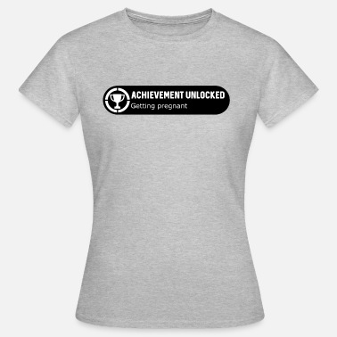 Gamer Couples Getting pregnant white - Women's T-Shirt
