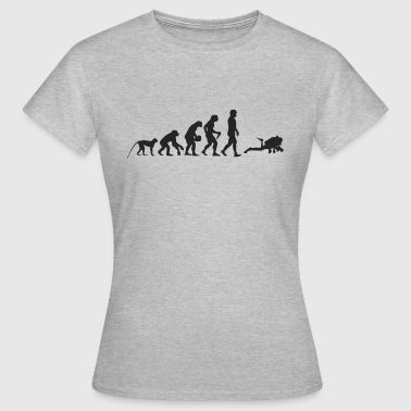 Evolution dykkere - Dame-T-shirt