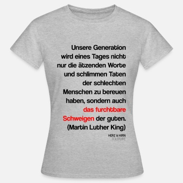 Luther king2 - Frauen T-Shirt