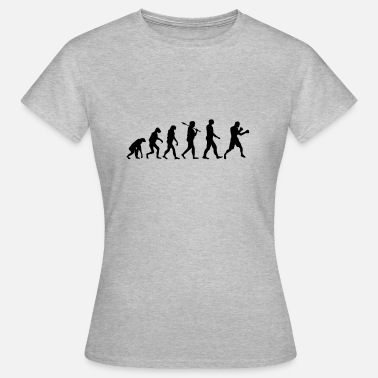 Boxing Evolution Boxing T-Shirt · Evolution · Boxing · Sports - Women's T-Shirt