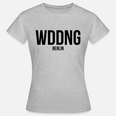 Westberlin Kiez WEDDING BERLIN - Frauen T-Shirt