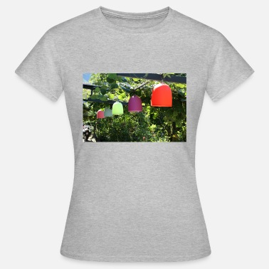 Bright Colors Colorful lamps many bright colors - Women's T-Shirt