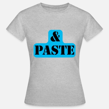Copy Paste Partnershirt Copy & Paste Part2 - Vrouwen T-shirt