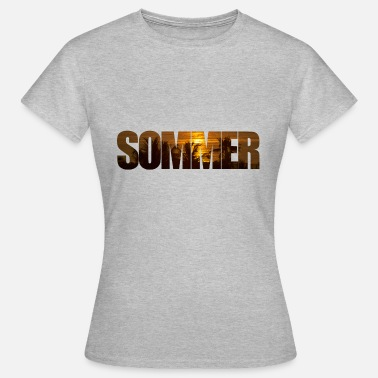 Somme Summer with sun - Women's T-Shirt
