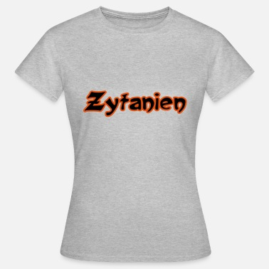 Open Air Zytanien Open Air-letters - Vrouwen T-shirt