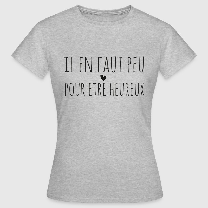 il en faut peu - livre de la jungle - best of 90's - T-shirt Femme