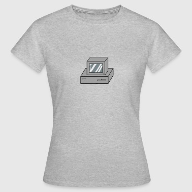 Old Computer computer - Women's T-Shirt