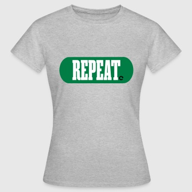 Repeating REPEAT - REPEAT ICON - Women's T-Shirt