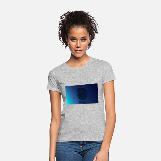 Deep T-Shirts - Deep sea - Women's T-Shirt heather grey