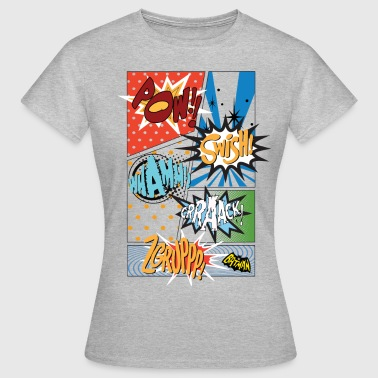 DC Comics Batman Coole Soundeffekte Panels - Frauen T-Shirt