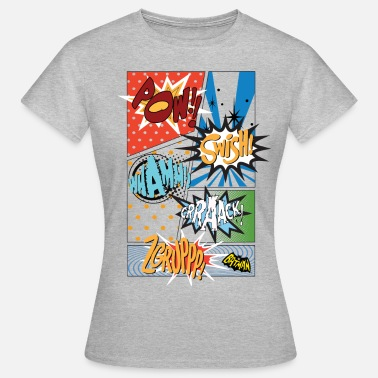 Comic DC Comics Batman Coole Soundeffekte Panels - Frauen T-Shirt