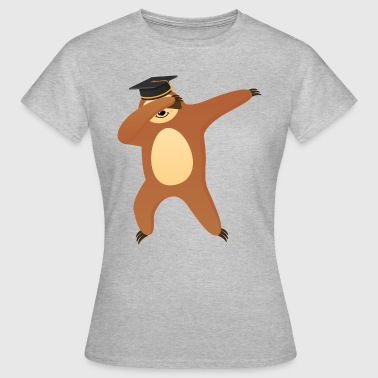 Sloth With Graduate Hat - Women's T-Shirt