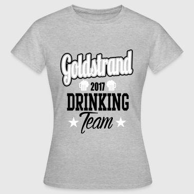 Goldstrand Drinking Team - Dame-T-shirt