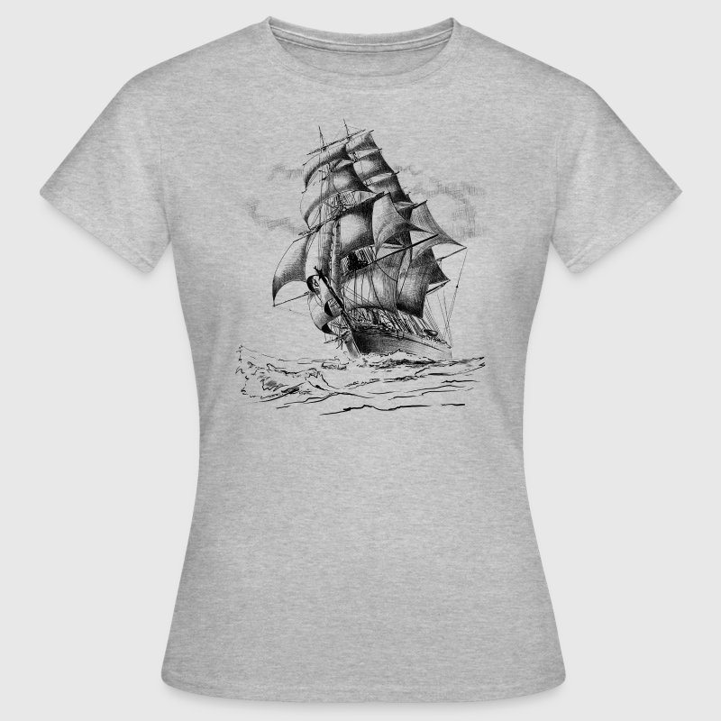 sailing ship - Women's T-Shirt