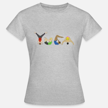 Yoga Pose Yoga Poses - Women's T-Shirt