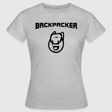 Backpacker Design Backpacker Backpack - Women's T-Shirt