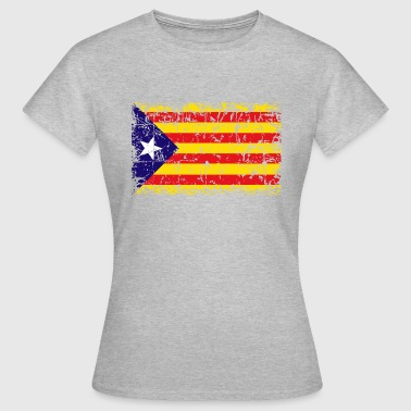 Catalonia Independence Flag - Frauen T-Shirt