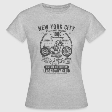New York City Speedway - Women's T-Shirt