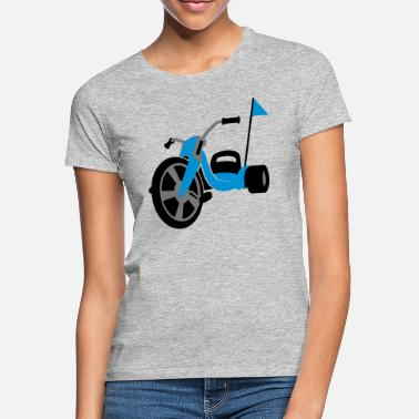 Dreirad Dreirad Chopper Buggy - Frauen T-Shirt