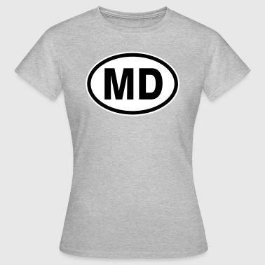 MD Moldawien - Frauen T-Shirt
