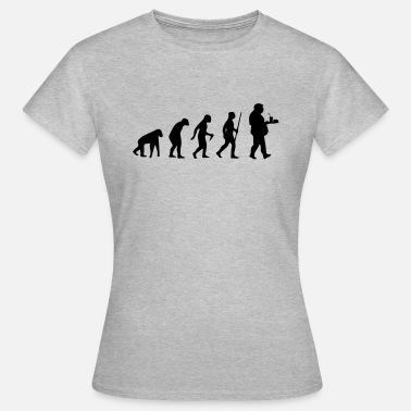 Evolution FAST FOOD EVOLUTION! - Women's T-Shirt