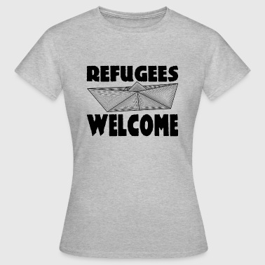 REFUGEES WELCOME! - T-shirt Femme
