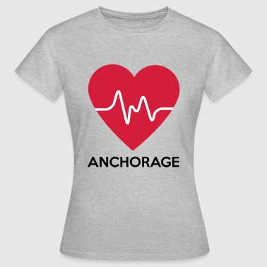 Anchorage cuore Anchorage - Maglietta da donna
